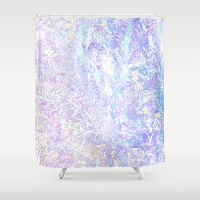 Iridescent Crystal Shower Curtain by berber | Society6