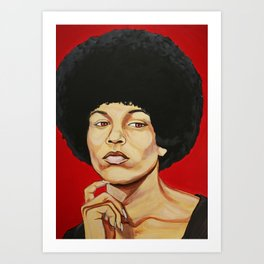"Angela Davis ""Revolutionary"" Art Print"
