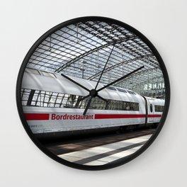 White Train - Berlin Wall Clock