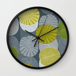 Dickinsonia Lime Wall Clock
