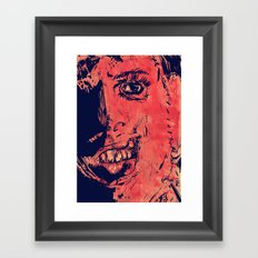 Icons: Leatherface Framed Art Print