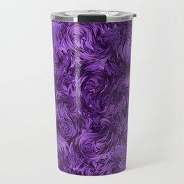 Marbled Paisley - Purple Travel Mug