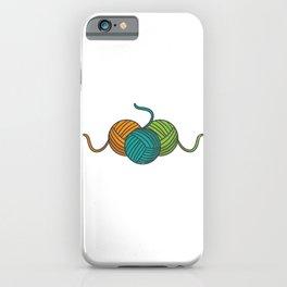 It´s Not Hoarding If It´s Yarn Knitting Qilting iPhone Case