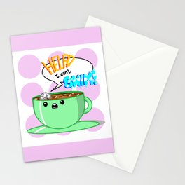 Hot Chocolate Sea Stationery Cards