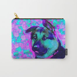 Artistic Dog Expression Carry-All Pouch