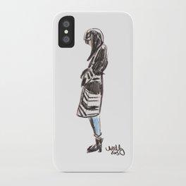 Blanket Coat iPhone Case