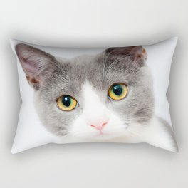 Beautiful cat Rectangular Pillow