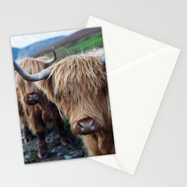 On the hills Stationery Cards