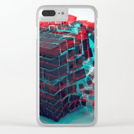 Abstract 3D Cube Bursting Shattering Ultra HD Clear iPhone Case
