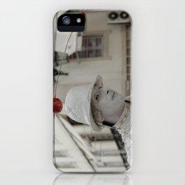 Artist white red iPhone Case