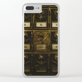 Numbers Clear iPhone Case