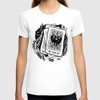 tarot T-shirts featuring Tarot talk by pam wishbow