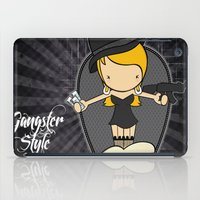 gangster iPad Cases featuring Gangster Style by Jaqueline Teixeira