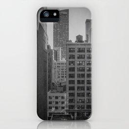 grimy nyc window... iPhone Case