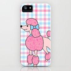 Pink Poodle iPhone (5, 5s) Slim Case