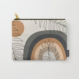 RAINBOW AND LEAVES I Carry-All Pouch