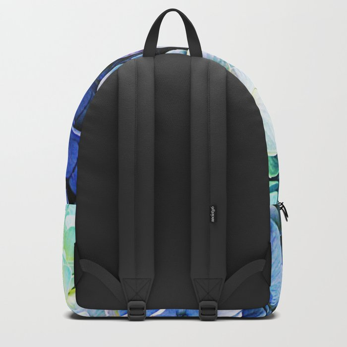 Soft Tri-Color Pastel Hydrangea Backpack