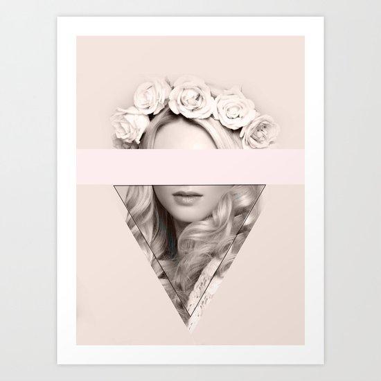 Triangle 5 Art Print