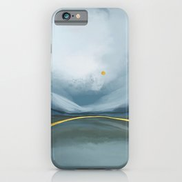 Olive hills iPhone Case