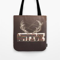 native Tote Bags featuring Native by Pilgrim