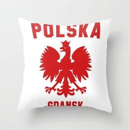 GDANSK Throw Pillow