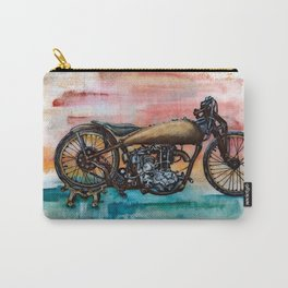 Antique Bike Carry-All Pouch