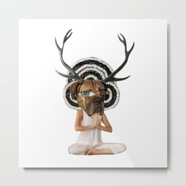 doga Metal Print