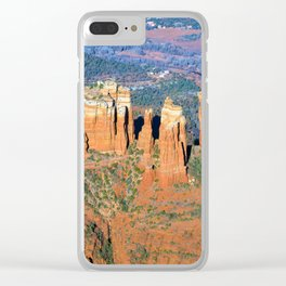 Cathedral Rock Clear iPhone Case