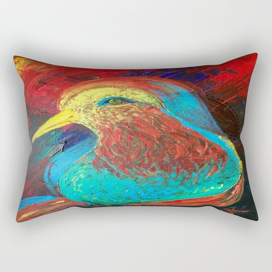 Brilliant Celebration Birdie Rectangular Pillow