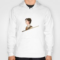 potter Hoodies featuring Harry Potter by Imaginative Ink