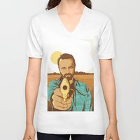 jesse pinkman V-neck T-shirts featuring BREAKING BAD | JESSE PINKMAN by Daniel Mackey