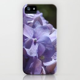 Purple Hydrangea iPhone Case