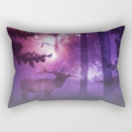 The enchanted forest Rectangular Pillow