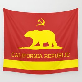 Cali Commie - California Communist Wall Tapestry