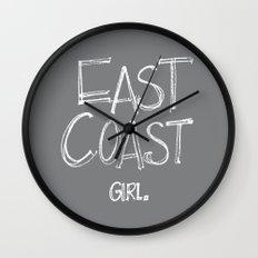 East Coast, Girl. Wall Clock