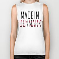 denmark Biker Tanks featuring Made In Denmark by VirgoSpice