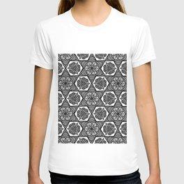 Floral Optical Illusion T-shirt