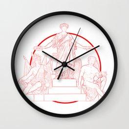MOS MAIORVM Wall Clock
