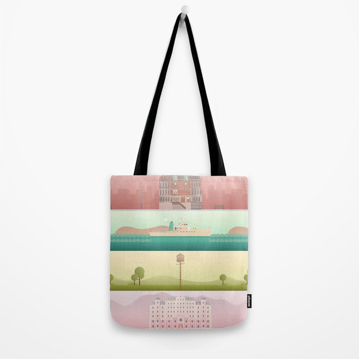 A Wes Anderson Collection Tote Bag