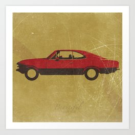 Beautiful Classic Car #1 Art Print