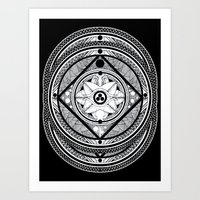 blvck Art Print