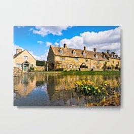 Lower Slaughter (The Cotswolds) Metal Print