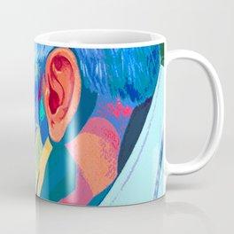 Kiss Divine; Francis pope . Coffee Mug