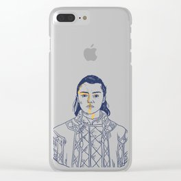 NO ONE Clear iPhone Case