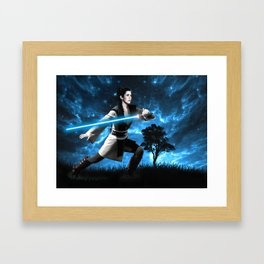 Knight Training Framed Art Print