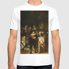 Rembrandt van Rijn - Nightwatch - Nachtwacht (1642) T-shirt