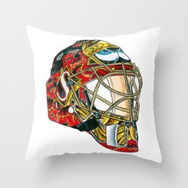 Lalime - Mask Throw Pillow