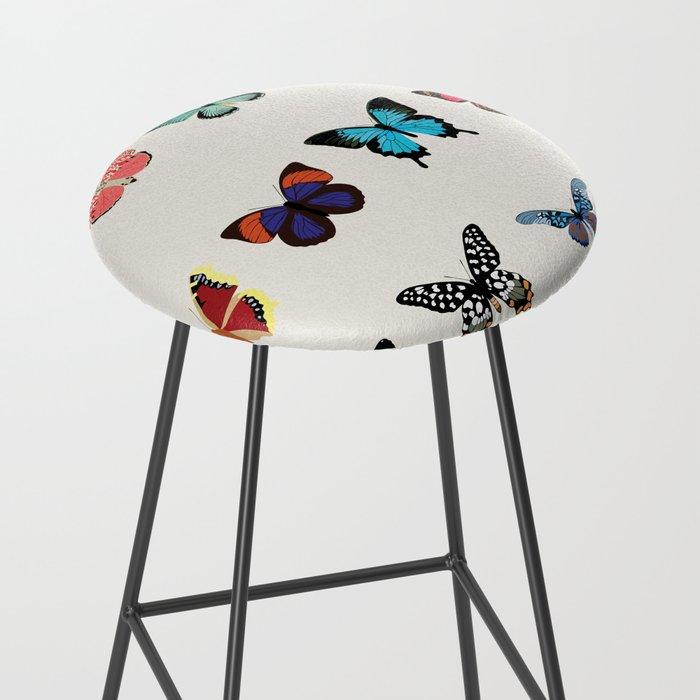 Butterflies Bar Stool