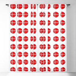 Flag of Denmark 4-danmark,danish,jutland,scandinavian,danmark,copenhagen,kobenhavn,dansk Blackout Curtain