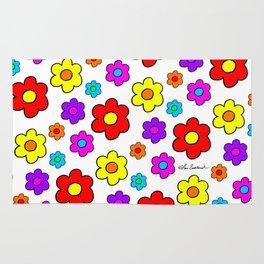 Pop Flowers Rug